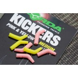 Коннектор для крючка Korda Yellow/Pink Large KICK09