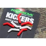 Коннектор для крючка Korda Red/White Medium KICK11