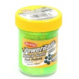 Форелевая паста Berkley Natural Scent Trout Bait Fish Pellet Fluo Green Yellow (1239482)