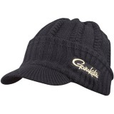 ШАПКА GAMAKATSU KNIT CAP WHITH BRIM BLACK