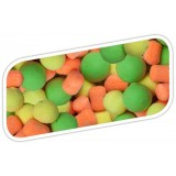 Бойлы плавающие Bait Factory Pop-Ups Zest Citrus Fluoro Mixed/50g